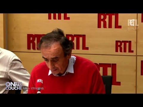 Le message de Laurent Ruquier à Eric Zemmour - On n'est pas couché