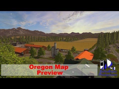 FS17: - Oregon Map - Preview