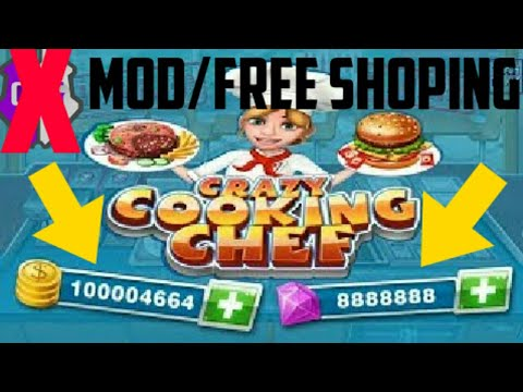CARA°Download Game Crazy Cooking Chef MOD APK TERBARU/FREE SHOPING