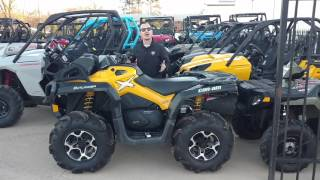 3. 2014 Can-am Outlander 650 Xmr