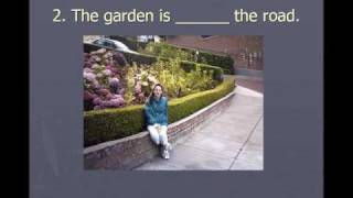 Prepositions of location and direction, English Grammar Lesson 3b