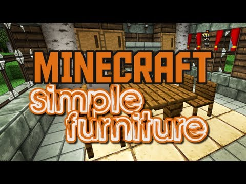 [Minecraft 1.1] Furniture Mod v2.1