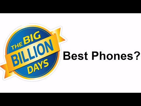 Best Mobiles on Flipkart Big Billion Day Sale