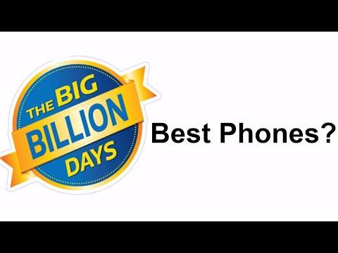 Best Mobiles on Flipkart Big Billion Day Sale