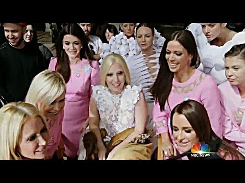 """Lady Gaga Previews """"G.U.Y."""" Music Video on Today Show With Real Housewives of Beverly Hills!"""