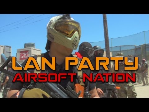airsoft battle - YOU ASKED FOR MOAR! The LAN Party crew joins forces with Evike.com for the worlds largest Airsoft battle EVER. Over 2000 players showed up to SC Village for ...