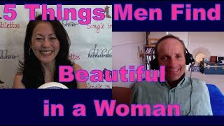 Find out the things men find beautiful in a woman from PJ Dixon, Life, Love & Relationship Coach. Get relationship tips for women over 40 & relationship advice for women from a top dating coach for women over 40 & 50.Find out the 5 things men are attracted to in a woman from a top dating coach for women3 Secrets Guaranteed to Attract Any Man!Get the Free Report Now!http://www.singleinstilettos.com/m-3-secrets-attract-man-ytSuzanne Oshima, Matchmaker & Dating Coach at Dream Bachelor & Bachelorette & the Founder of Single in Stilettos (http://www.singleinstilettos.com) interviews PJ Dixon, Life, Love & Relationship Coach.Stay tuned for the next Single in Stilettos Weekly Show and get the best dating advice & dating tips!Dating Coach for women in their 40's Dating Coach for women in their 50'sSuzanne Oshima is a Matchmaker & Dating Coach at Dream Bachelor & Bachelorette: http://www.dreambachelor.comDating advice for women over 40. Dating advice for women over 50.Get the best dating advice for women over 40 from PJ DixonSponsored by CupidsPulse http://www.cupidspulse.com