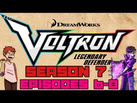 Voltron Season 7 Episodes 6-8 Discussion