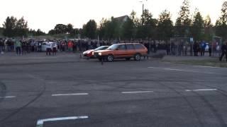 Passat w dieslu vs. Ferrari