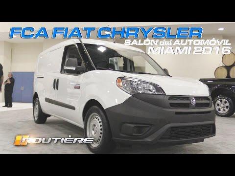 FCA Fiat Chrysler Salón Internacional del Automóvil  de Miami 2016 - Routière - Pgm 394