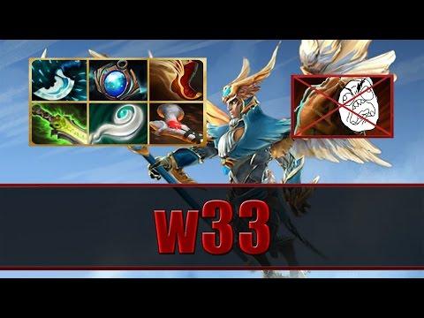 w33 plays Skywrath Mage Ranked - Dota 2