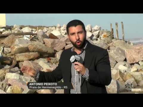 Santa Vitória do Palmar vai decretar situação de emergência por causa da ressaca