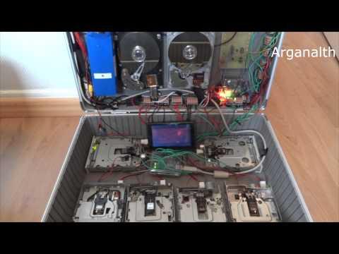 HDD ve floppy disklerle Nirvana çaldı