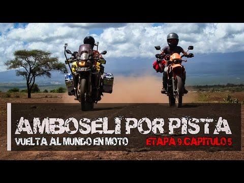 Rodear Amboseli por pista. (S09/E05). Vuelta al mundo en moto
