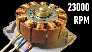 Video 23000 RPM - Reuse 24V Super High Speed DC Motor from DEAD Printer - Brushless BLDC Motors MP3, 3GP, MP4, WEBM, AVI, FLV September 2019