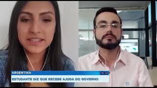 Argentina: estudante diz que recebe ajuda do governo