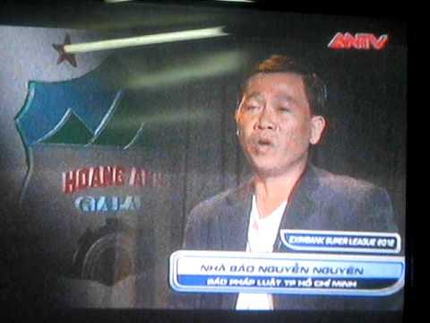 Nghe nhà báo Nguyễn Nguyên bình luận về trận SHB Đà Nẵng 4-1  Hoàng Anh Gia Lai