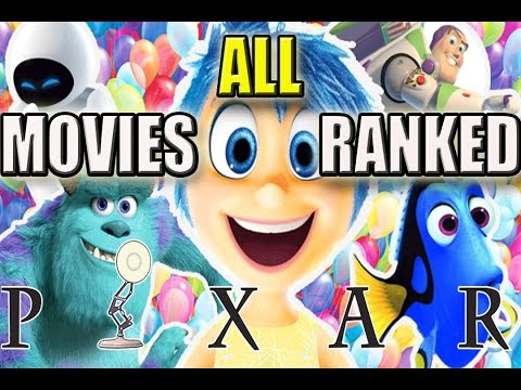 All Pixar Movies Ranked Worst to Best | Including Finding Dory