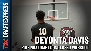 Deyonta Davis 2016 NBA Pre-Draft Workout Video (Condensed Version) by DraftExpress