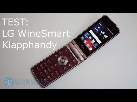 LG WineSmart: Klapphandy mit Android und LTE im Test