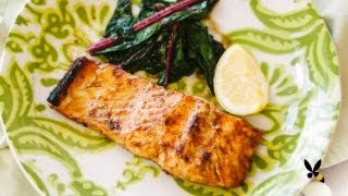 Maple Grilled Salmon Recipe - Honeysuckle Catering