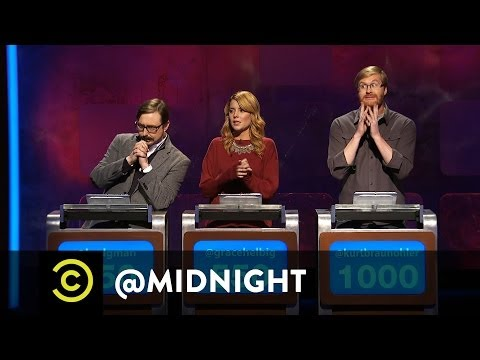 Chris Hardwick @midnight - #Stoned, #Drunk or #Pregnant - An Emotional Ass Moment