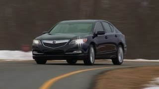 2014 Acura RLX First Drive From Consumer Reports