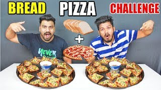 Video BREAD PIZZA CHALLENGE | BREAD PIZZA EATING COMPETITION |Food Challenge India(Ep-78) MP3, 3GP, MP4, WEBM, AVI, FLV Juli 2018