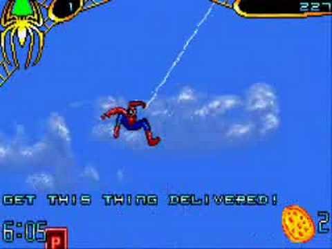 spider-man 2 game boy walkthrough