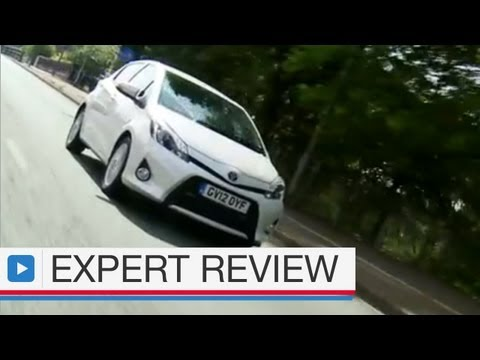 Toyota Yaris Hybrid Hatchback car review