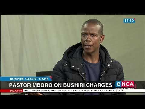 Pastor Mboro on Bushiri charges