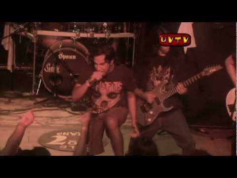 """Bonded By Blood -"""" Mind Pollution"""" Live At Reggie's in Chicago IL"""