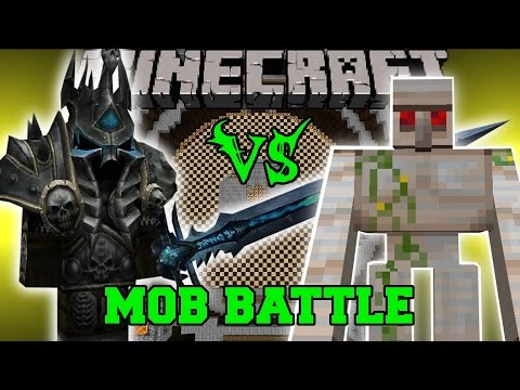 King - Lich King Vs Mutant Iron Golem Mod : Who will win the mob battle?! Don't forget to subscribe for more battles and epic Minecraft content! Facebook!
