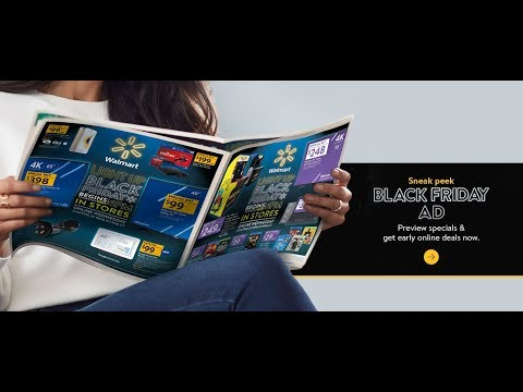 Walmart Black Friday 2018 AD Release // Get Ready for Black Friday 2018