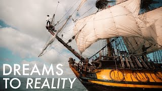 Captain Vladimir built this incredible tall ship with his bare hands and a chainsaw. He had a dream and he turned it into a reality. Don't let excuses stop you from chasing your wildest dreams!Part 1 - Tour of the Ship https://www.youtube.com/watch?v=mQ5LD4fzU5cPart 2 - Craziest Thing I've Ever Donehttps://www.youtube.com/watch?v=FATjQmXxBm4Instagram https://www.instagram.com/lostleblancSnapChat LostLeBlancTwitter LostLeBlancFacebook LostLeBlancThe Shtandart's Channel: http://bit.ly/2uZ54svSongs:Pirates of the Caribbean - Auckland SymphonyTribal - MonstercatCalvin Harris - Thinking About You (Tez Cadey remix)Neptune: https://goo.gl/fF1Q5NLoch Lomond Wax and WireThe Adventure Begins 2: https://goo.gl/fF1Q5NCopyright Free Music HERE: https://goo.gl/fF1Q5N--------------------------------------FAQ:-What camera and equipment do you use? https://www.youtube.com/watch?v=Kuq50cVSFbw-What do you use to edit your videos? FCPXJune, 2016
