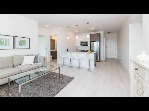 An -08 2-bedroom, 2-bath model at the South Loop's Essex on the Park