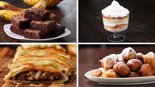 4 Desserts To Make With Ripe Bananas by Tasty
