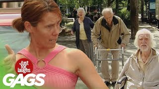 Grandparents Play A Hilarious Prank On Youngsters