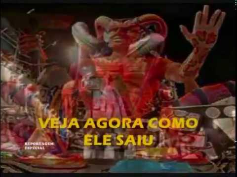 O Diabo no Carnaval se deu mal, escola de Samba pega fogo