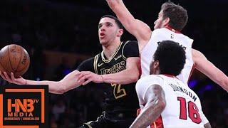 Los Angeles Lakers vs Miami Heat Full Game Highlights / March 16 / 2017-18 NBA Season