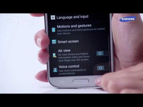 Samsung Galaxy S4 - prezentacja funkcji Inteligentne wstrzymywanie