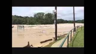 Glen Rose (TX) United States  City new picture : Paluxy River-Big Rocks Flooding in Glen Rose, TX`