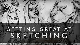 Video Getting GREAT At Sketching - Try This One Thing MP3, 3GP, MP4, WEBM, AVI, FLV Juli 2019