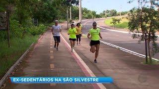 Grupo formado por ex-sedentários se prepara para correr a São Silvestre