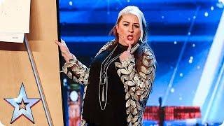 Video Magic Mandy BEWITCHES the Judges! | Auditions | BGT 2018 MP3, 3GP, MP4, WEBM, AVI, FLV Oktober 2018