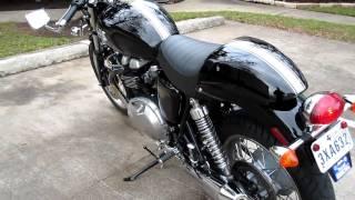 6. Walkaround of my 2009 Triumph Thruxton motorcycle