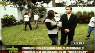 SECURITAS PERÚ - REPORTAJE SOBRE SEGURIDAD 2011 (FRECUENCIA LATINA)