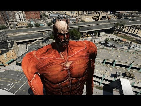 GTA 5 - Đại chiến Titan (Attack on Titan) | GHTG - Thời lượng: 18:08.