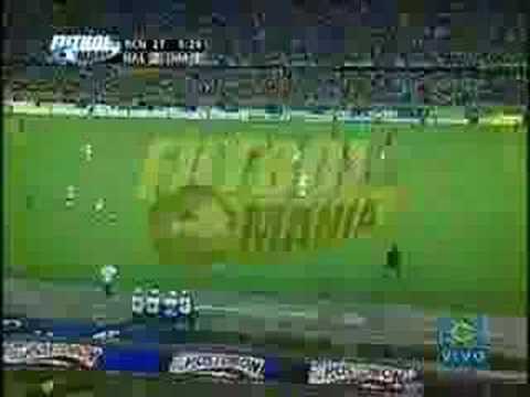 Gol de Patiño con Nacional