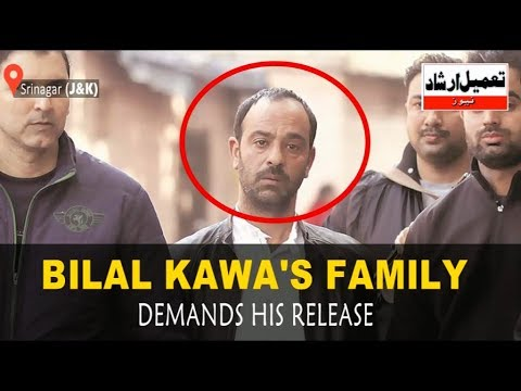 Bilal Kawa's Relatives Stages Protest At Press Colony